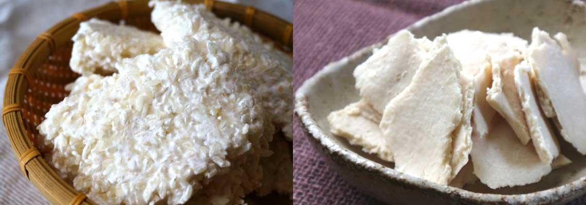 米麹と酒粕